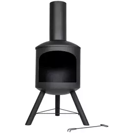 Chimineas And Wood Burners Clay Steel Chimineas Argos In 2020 Wood Burner Chiminea Argos