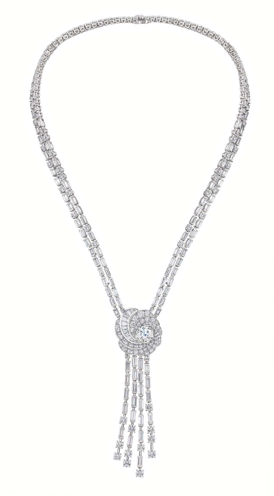 A new icon from de beers the aria diamond jewellery collection de