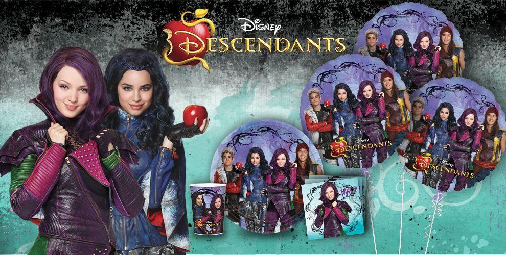 Disney descendants party supplies descendants birthday