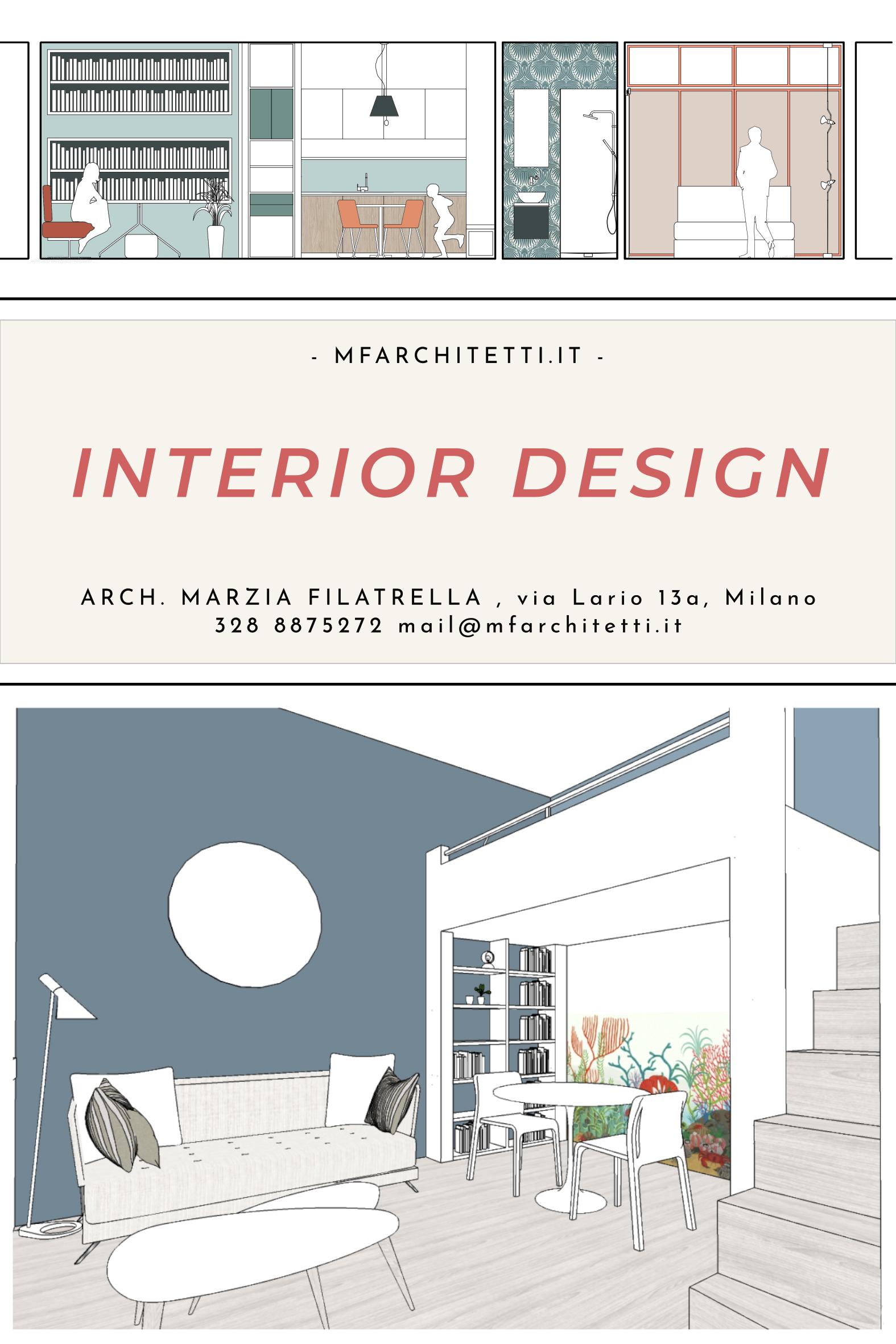 Interior Design Design Di Interni Presentazione Architettonica Progettazione Di Interni