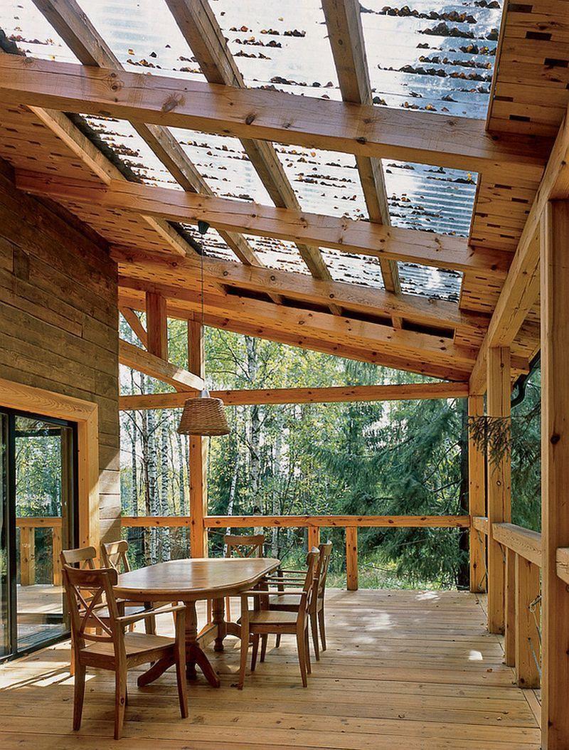 despre casele din lemn ale arhitectilor