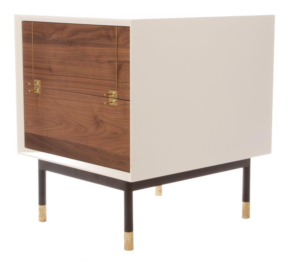 Skandy 2 Drawer Mini Cabinet Mb Storage Shelves Scandinavian Design Scandi Style