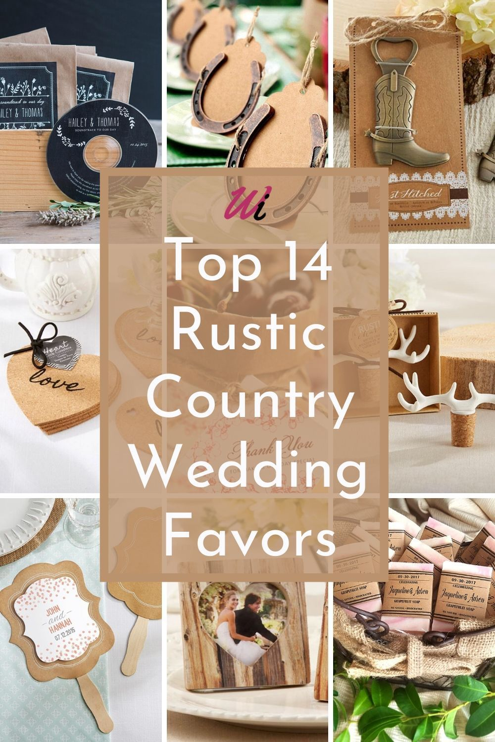 Creative And Unique Rustic Country Wedding Unique Favors Ideas Your Guests Will Love In 2020 Themed Wedding Favors Country Wedding Favors Wedding Favors