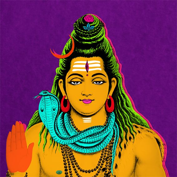 Pop Art - Shiva