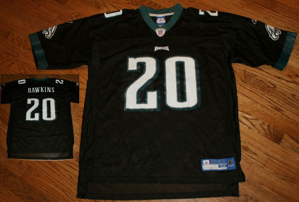 low priced 01993 8b4a0 Brian Dawkins Philadelphia Eagles Football Jersey Men's X ...