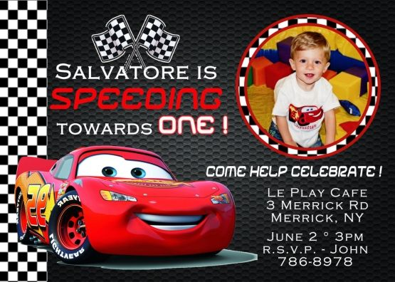 cool cars birthday invitations ideas