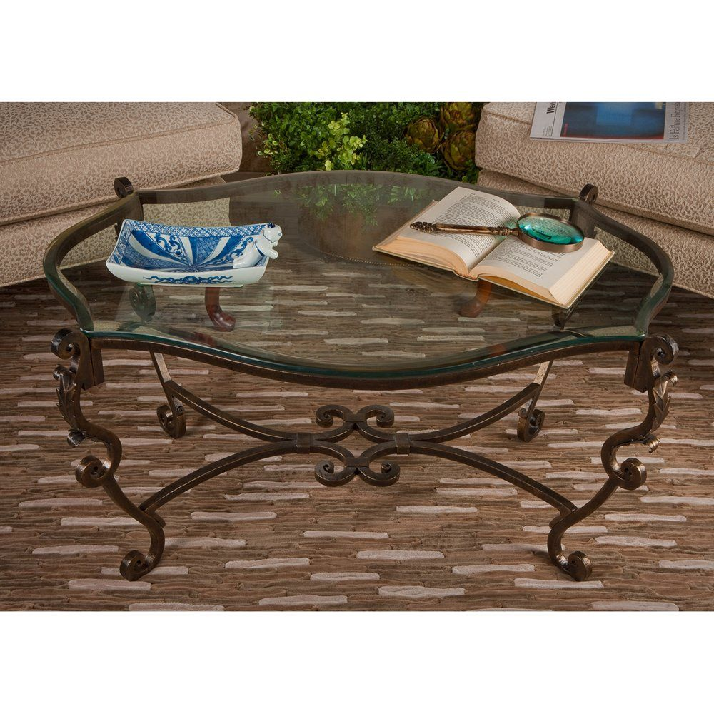 Dessau Home Me2053 Bronze Iron Acanthus Leaf Coffee Table With Beveled Glass At Atg Stores Pr Bronze Coffee Table Coffee Table Coffee Table And Side Table Set [ 1000 x 1000 Pixel ]