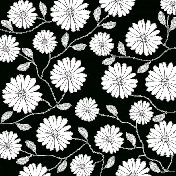 16 Flower Pattern Background Png Black And White White Flower Background White Flower Png Floral Vector Png