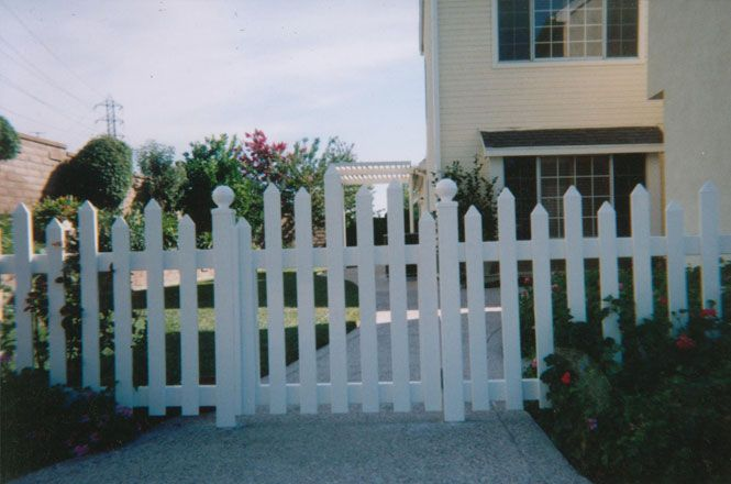 Home Depot Vinyl Fence Picket Staggered Mission Viejo