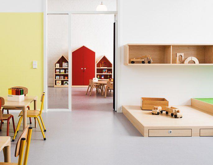 Hülle & Fülle Kita räume, Raumgestaltung, Pädagogische