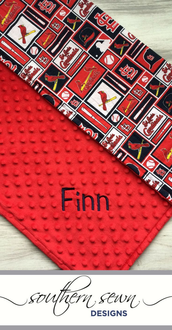 St louis cardinals personalized baby blanket baby blanket infant st louis cardinals personalized baby blanket baby blanket infant minky baby blanket cards cardinals blanket baseball negle Images