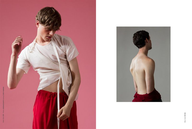 'HUIS CLOS. Hell Is Other People' (Fucking Young! Online), shot by Gerardo Vizmanos and styled by Desmond Zhengs.