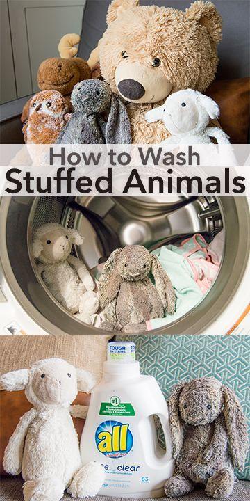 Can You Wash Stuffed Animals In The Washing Machine Five Tips For How To Wash Stuffed Animals In The Washing Machine Laundry Hacks Tips Washing Stuffed Animals Clean Stuffed Animals Organizing Stuffed Animals