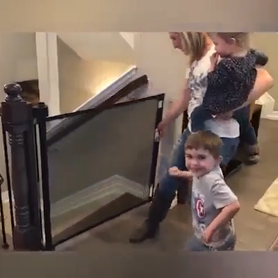 Protect Your Pets And Children Perfectly Fit Doors Stairs And Entrances 2020 Yaratici Fikirler Marifetli Kucuk Seyler Yaratici