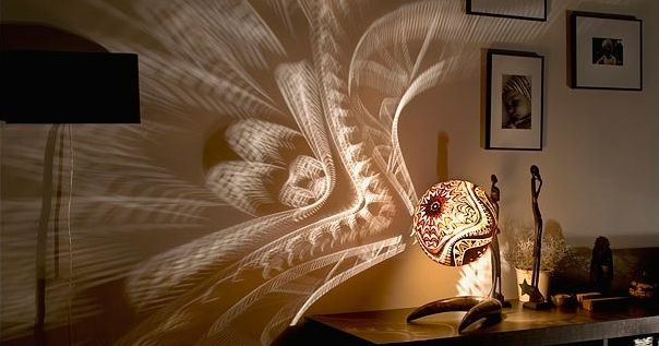These incredible lamps create amazing art walls