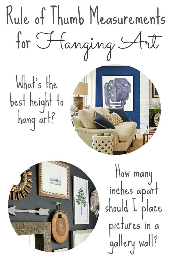 Published My Post On 20 Rule Of Thumb Measurements For Decorating Your Home Can You Believe That Was Over Two Years Ago It S A I Ve Gotten So