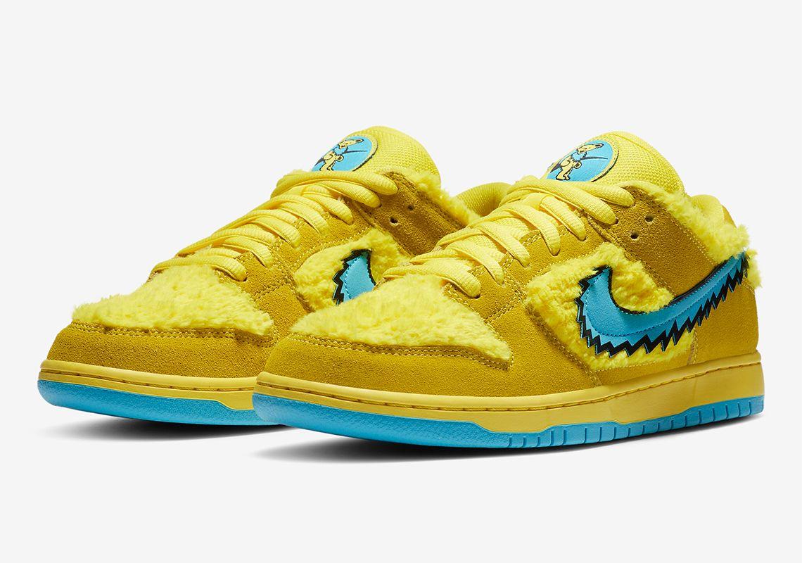 Grateful Dead Nike SB Dunk Low Opti Yellow Release Info ...
