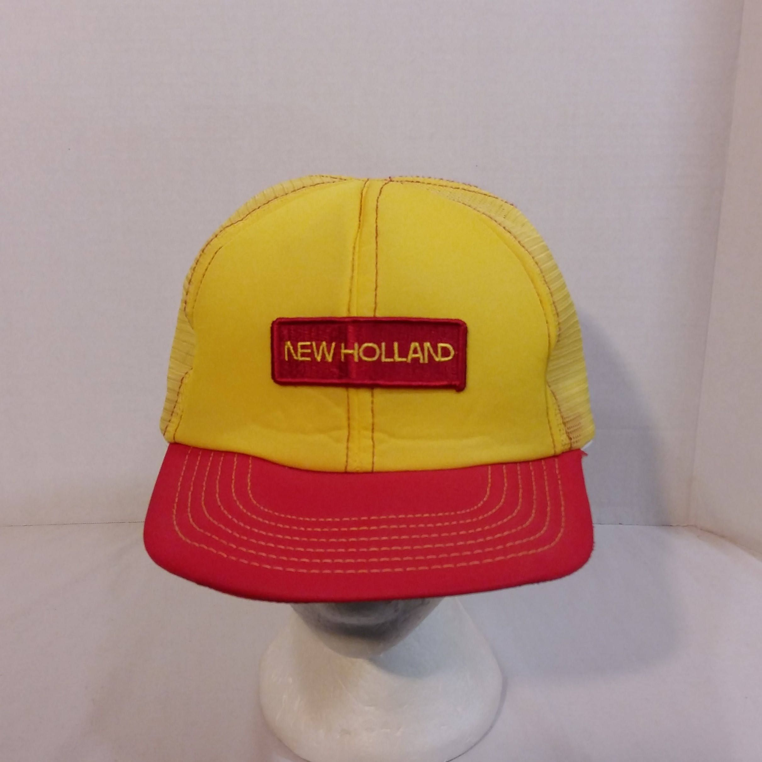 884f385369147 New Holland Vintage Baseball Truckers Hat Cap Made In Canada by  LouisandRileys on Etsy