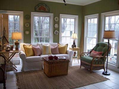 cozy sunroom design ideas with 17 best images about decorating sunroom on pinterest shabby - Sunroom Ideas Designs