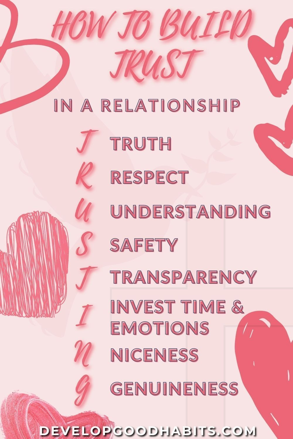 How To Build Trust In A Relationship In 2020 Relationship Self Help Skills Actions Speak Louder Than Words