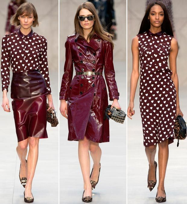 Burberry Fall 2013 collection