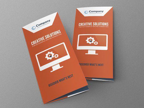 Online Marketing Brochure By Vandelay On Creativemarket