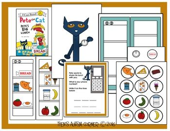 Story Telling Pieces To Go Along With Pete The Cat Pete S Big