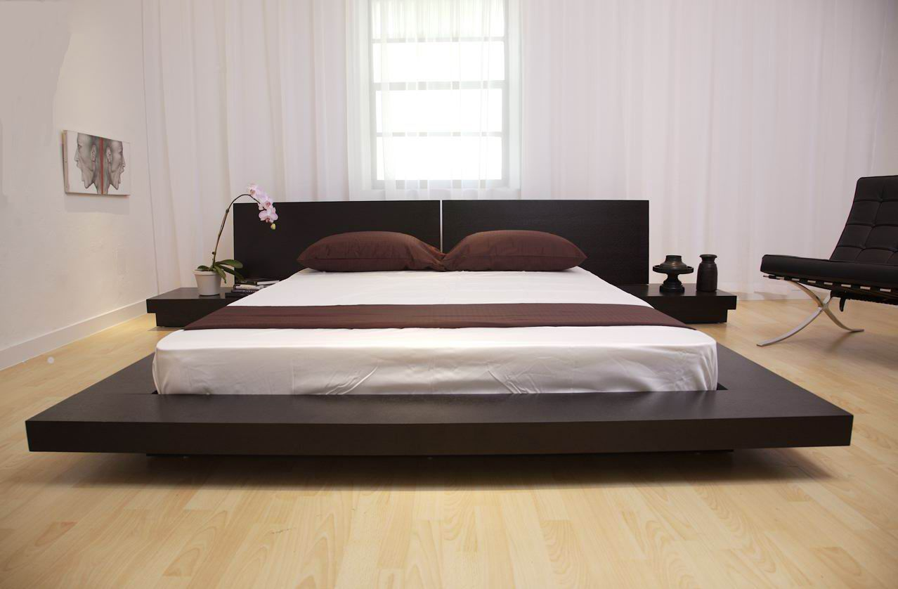 Love This Bed So Zen Zen Platform Bed Designs Home