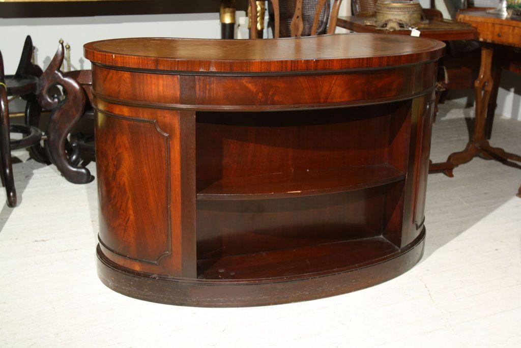 Brilliant Kidney Shaped Office Desk Antique Kidney Shaped Desk