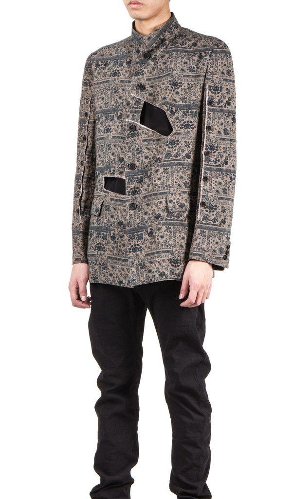 Yohji Yamamoto hollowed jacket