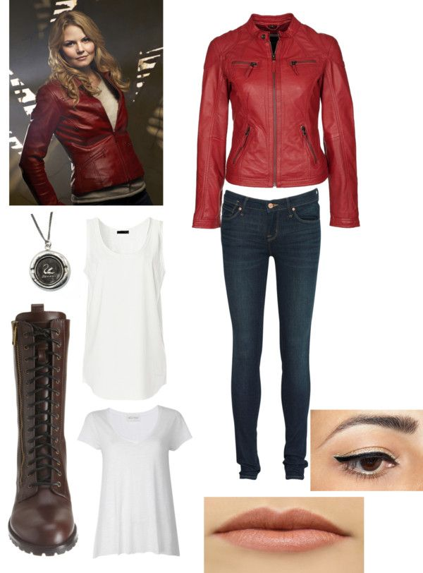 """""""Emma Swan (Once Upon a Time)"""" by meg-culhane ❤ liked on Polyvore"""