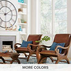 $249-649, Grandin Road - Accent Chairs - Living Room Chairs - Leather Chairs