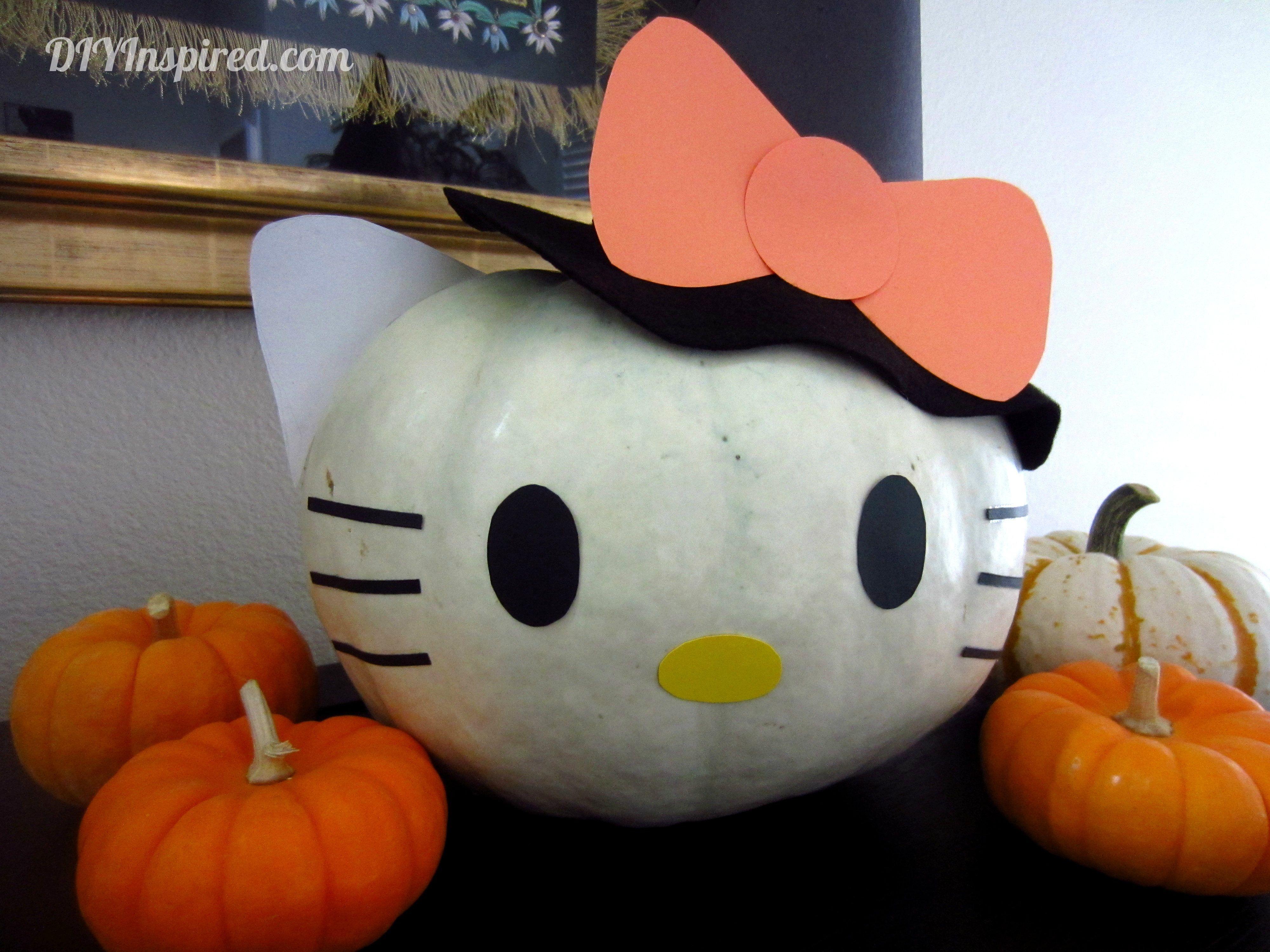 Hello Kitty Halloween Pumpkin | Halloween | Pinterest | Halloween ...