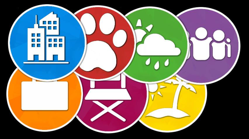 Mod The Sims Sims 4 Expansion Taskbar Icons Sims 4 Expansions Sims 4 Sims