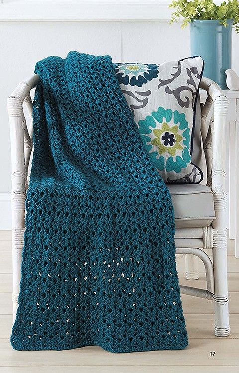 Make In A Weekend Afghans To Crochet Easy Crochet Fast