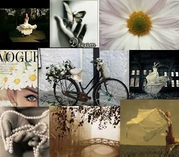 Vintage Fashion Collage Flower Picture And Wallpaper