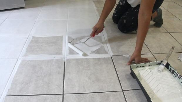 The Secret is Out! How to Stencil a Tile Floor in 10 Steps ...