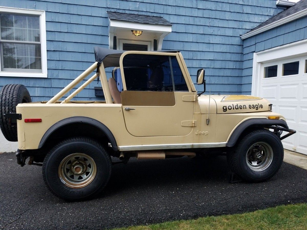Closer Look Needed 1979 Jeep Cj 7 Golden Eagle Jeep Cj Jeep Old Jeep