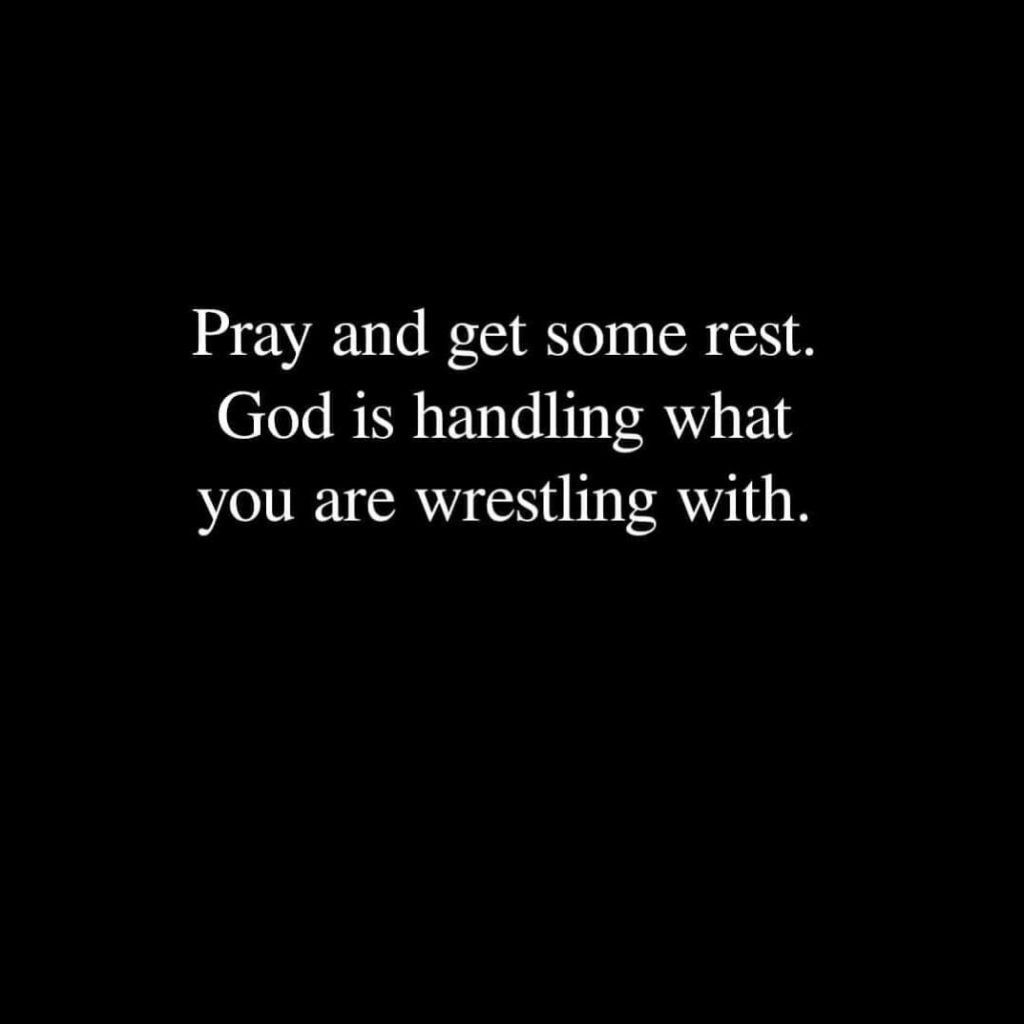 Pray And Rest