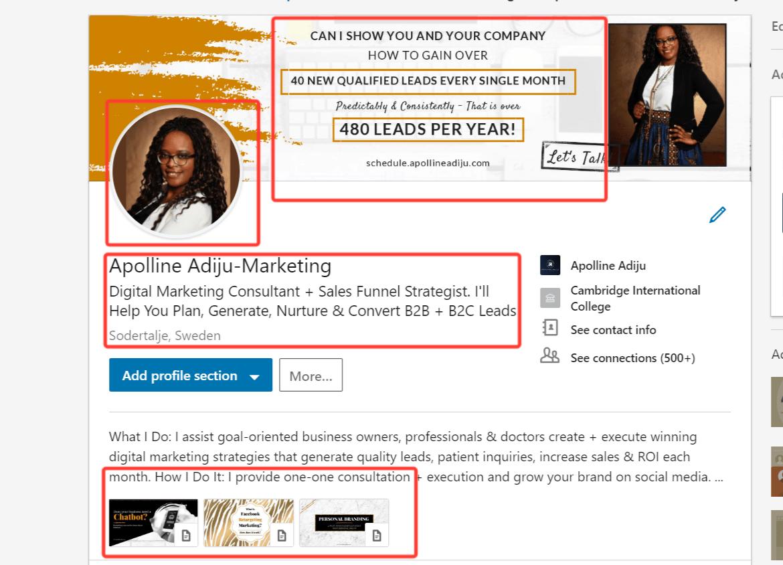 Linkedin Resume Template 2018