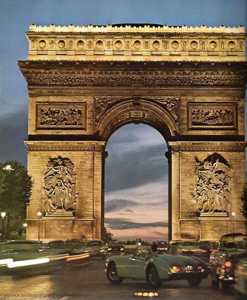 Patrice Molinard - Arc de Triomphe, Champs Elysées, Paris (circa 1960)