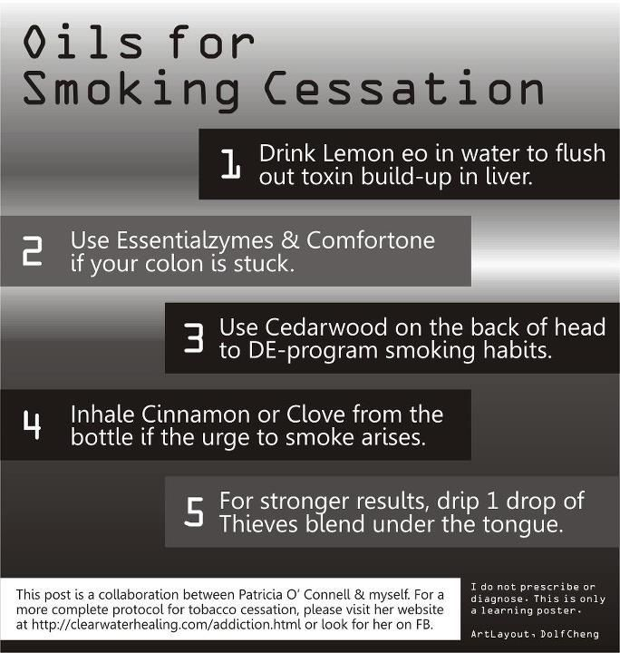 Pin by The Healing Space on Oily Tips | Quit smoking essential oils