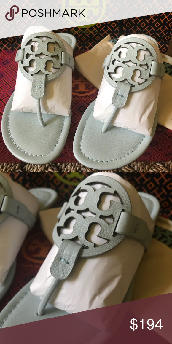 643b99d94fb725 Tory Burch Millers Brand new with box and dust bag . Seltzer color Tory  Burch Shoes Sandals