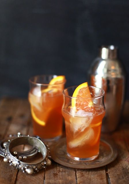 The Morocco: spice-based syrup and orange liqueur from Jen Altman