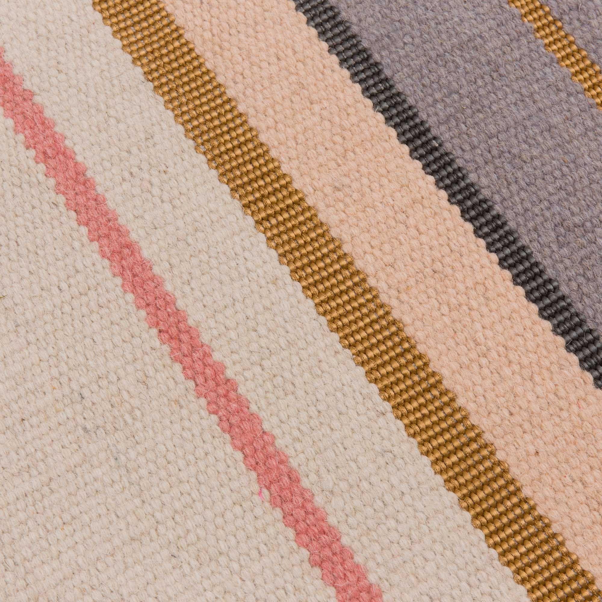Unser Teppich Katni Wird In Einem Mix Aus Schurwolle Und Baumwolle