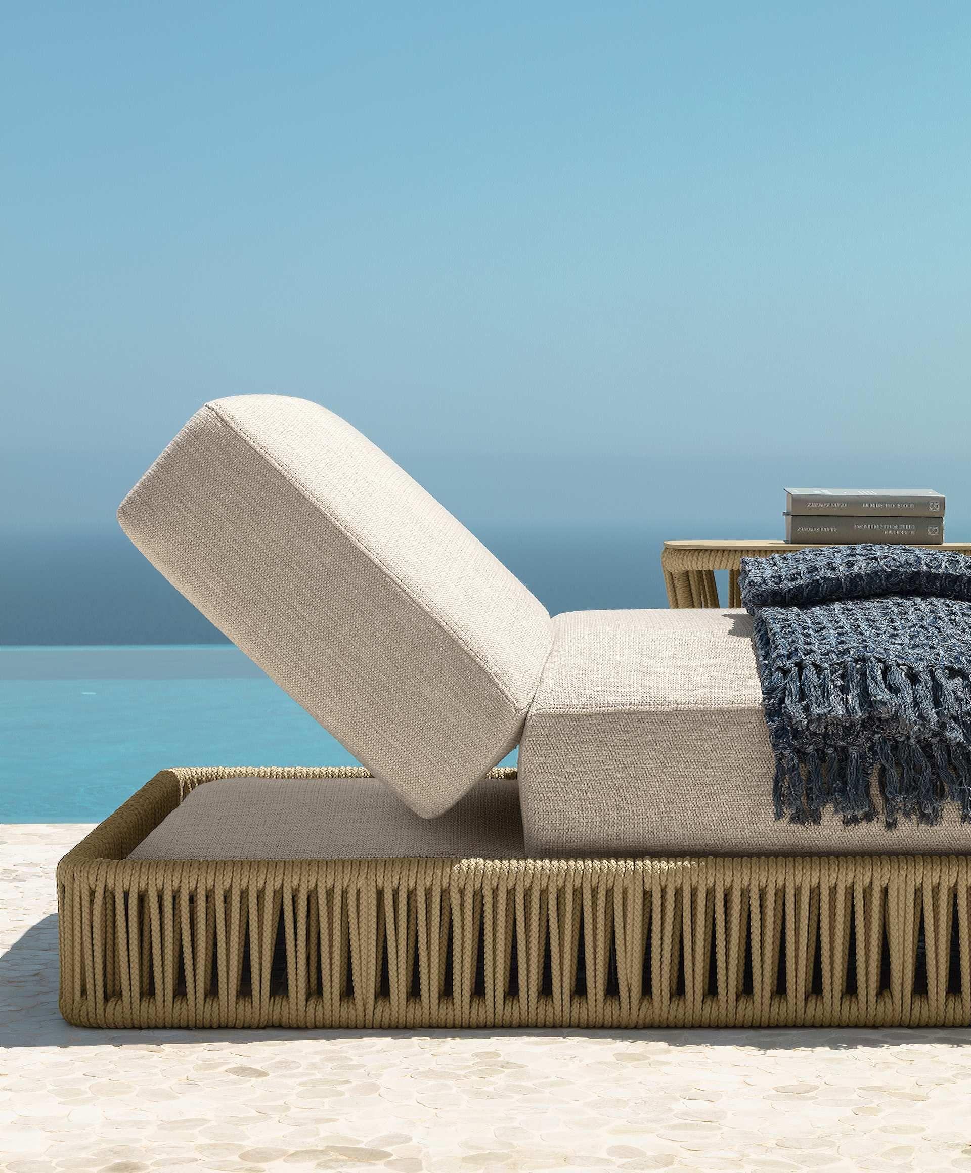 Cliff Sunbed Italian Garden Furniture Talenti Garden Furniture Beach Furniture Outdoor Furniture Design