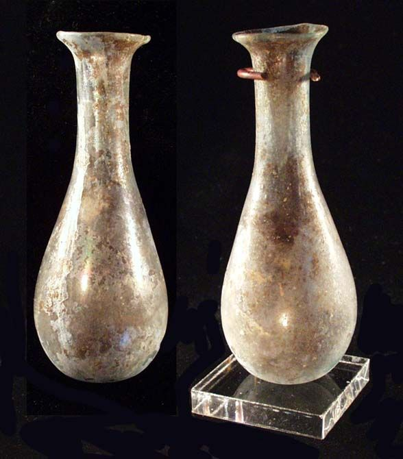 Perfume vessels from the early Roman Period about 450 A.D.