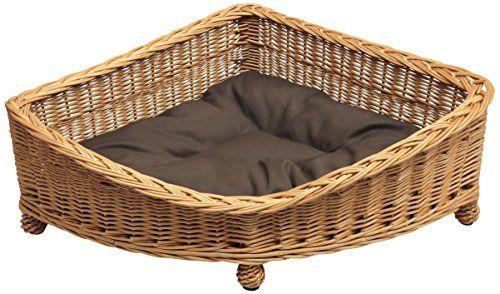 Corner Wicker Dog Basket Bed Uk Webnuggetz Com Basket Dog Bed Dog Basket Wicker