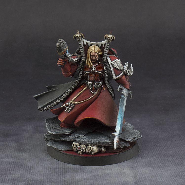 Warhammer 40k Blood Angels: Mephiston, Lord Of Death, Blood Angels #Warhammer #40K