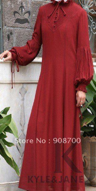 girl abaya islamic clothing for women muslim jilbab cotton design2012 style